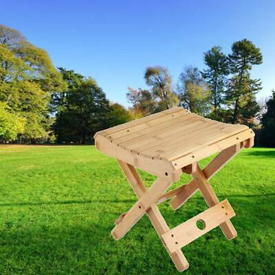 Stupendous Folding Wooden Camping Stool Mini Portable Outdoor Canvas Bralicious Painted Fabric Chair Ideas Braliciousco