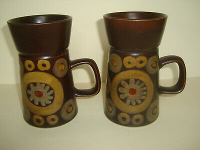 Denby - Arabesque - Large Mugs x 2