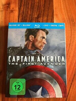 Captain America: The First Avenger Blu-Ray in 3D