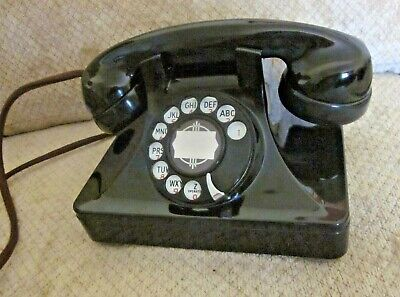 NORTH ELECTRIC Bakelite Rotary Dial Desk Telephone.