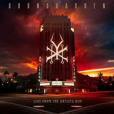 Soundgarden - Live From The Artists Den - Soundgarden CD VHVG The Cheap Fast The