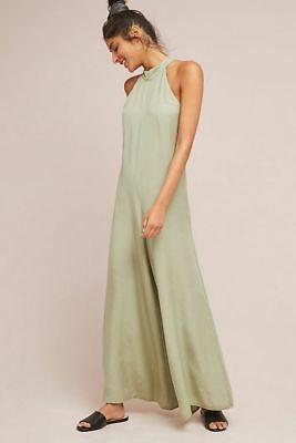 $158 Anthropologie  Cloth & Stone Marfa Jumpsuit  XL new moss color