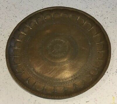 Large Copper/brass Antique Plater