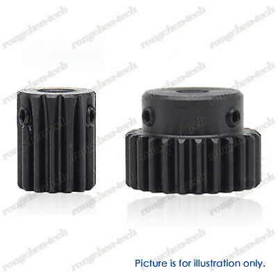 10T - 35T Mod 1 Pinion Gear Transmission Spur Gear Outer Dia 12-37mm - 45# Steel