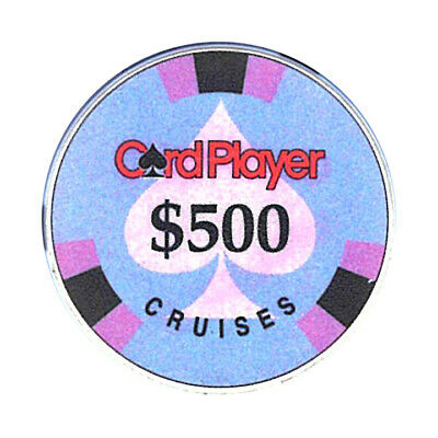 (1) Card Player Cruises $500 Chip Chipco Cruise Line *
