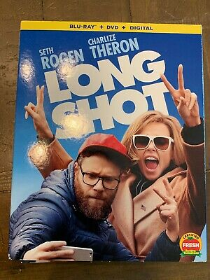 NEW - Long Shot (Blu-ray + DVD + Digital) with Slipcover free 1st class shipping