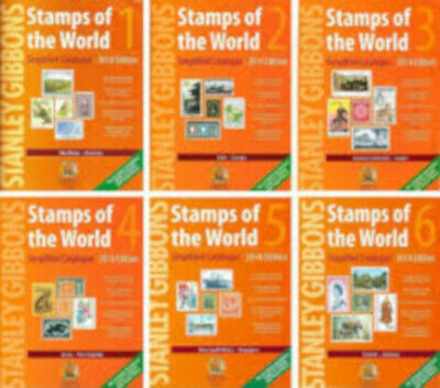 STANLEY GIBBONS 2014 Complete Worldwide Catalogue A-Z on DVDs