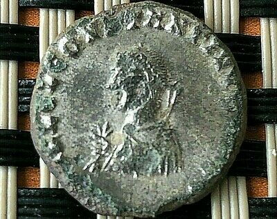 Constantine I The Great 308-337 Ad Ae Follis Camp Gate Silvered Scarce Coin