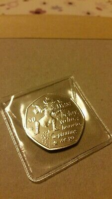 PETER PAN 50p COIN Hook 90th ANNIVERSARY NEW RELEASE 2019 UNCIRCULATED