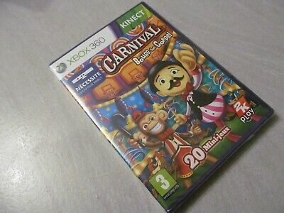NEUF NEW carnival bouge ton corps XBOX 360 kinect blister sealed français