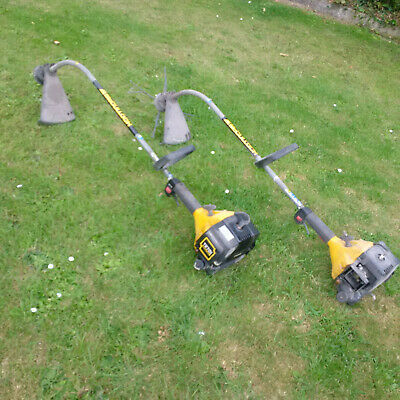 2 X MCCULLOCH MT270 petrol strimmer's spares or repair