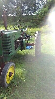 John Deere tractor H Runs  local pickup only