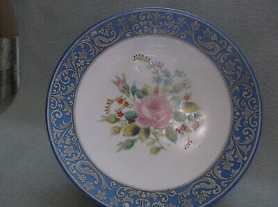 NIPPON Handpainted 1900c. Winged Food Dog/Dragon Pedestal Compote(APPRAISED) A24