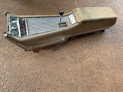 Galaxie XL Automatic Console, Bracket, Base, Top plate & Shifter 1962 1963 1964