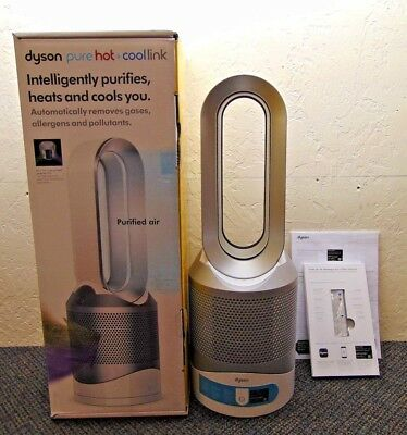 Dyson Pure Hot Cool Link Air Purifier - White/Silver