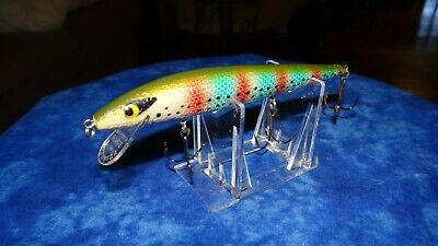 Manns bull fin HACKLEBACK ROOTER  BOWFIN vintage fishing lures make your own lot