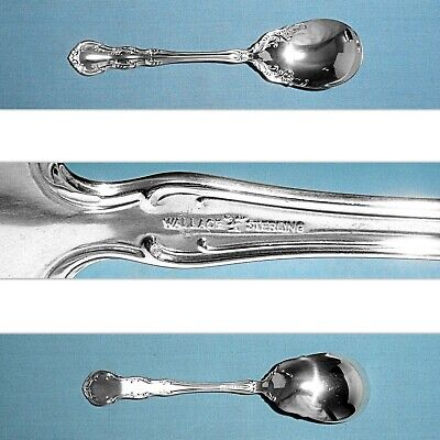 """-5 3//8/"""" s Irving//Old Atlanta-Wallace Sterling Round Soup Spoon"""