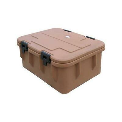 Insulated Food Pan Carrier 40 Litres Top Loading Commercial Portable Kitchen NEW