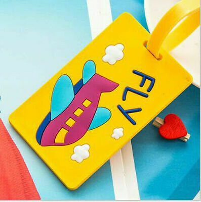 Silicon Label SALE Bag Marks Tags Luggage Travel Baggage Name Address ID Cartoon