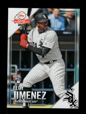 2019 Topps National Card Day #7 Eloy Jimenez Rc White Sox