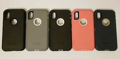 OtterBox Defender Series Case for iPhone XR - Face Only No clip - colors