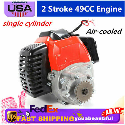 2 STROKE HIGH Performance Pull Start 49Cc Engine Motor