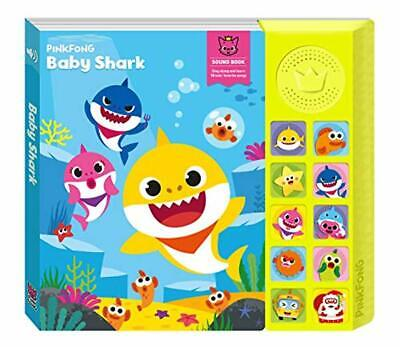 Learn Sounds with Baby Shark Book Sing Song Original for Baby English Education