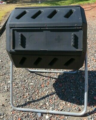 Dual Chamber Compost Tumbler