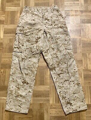 Usmc Us Marine Corps Desert Marpat Mccuu Pants Small-Short Trousers Digital