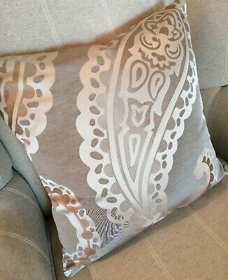 """piped Emperor Paisley cushion cover laura  Ashley  Fabric 16/"""""""