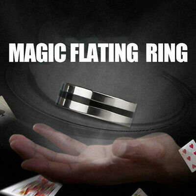 Suspension Ring Magic Props Floating Ring Invisible Metal Stage Mentalism Toys