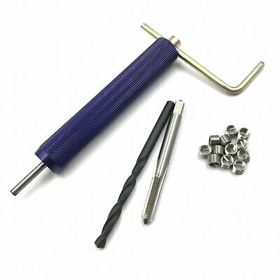 M3 x 0.5 Helicoil Thread Repair Kit Drill and Tap Insertion Tool [M_M_S]