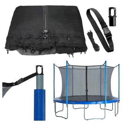 Replacement Protective Enclosure Safety Net - Any Pole Number Trampoline Netting
