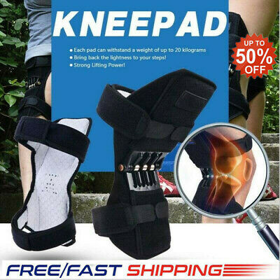 Power Lift Knee Stabilizer Pads Powerful Rebound Spring Force Support Knee Pad T