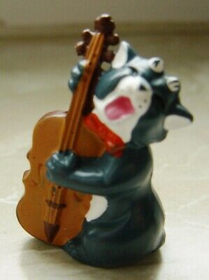 Figurine Kinder ancien monobloc Les Aristochats Aristocats 1989 Billy Bass