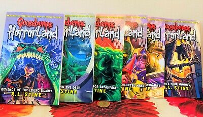 Goosebumps HorrorLand - Books 1 - 6 by R. L. Stine (Paperback) Bundle Collection