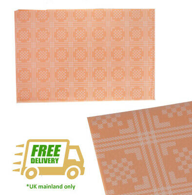 Peach Table Cover Wipe Clean Square 90 cm Lotus Professional Damask Slip Covers