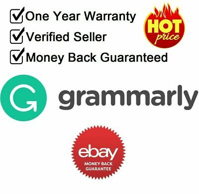 Grammarly Premium 1 Year Subscription Account