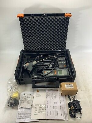 Testo 327-1 FLUE GAS Combustion Analyzer Kit WITH CASE and accessories