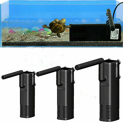 Internal Fish Tank Submersible Aquarium Filter with Spray Bar Included UK F5T8M