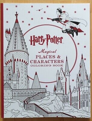 MALBUCH HARRY POTTER Colouring Book (fast wie neu) - EUR 1 ...