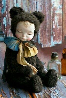 Artist toy Teddy Doll Sleeping boy