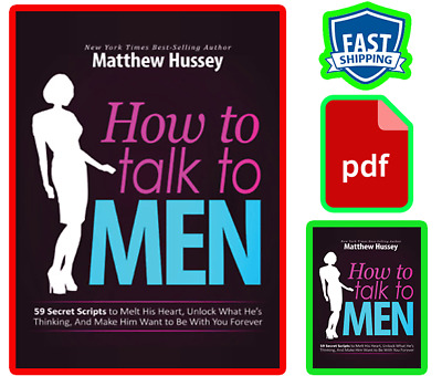 """How to Talk to Men """" PDF """" Download - Read Immediately your book"""