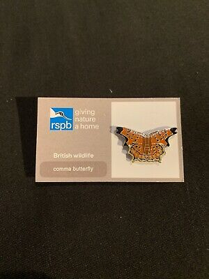RSPB Pin Badge | Comma Butterfly