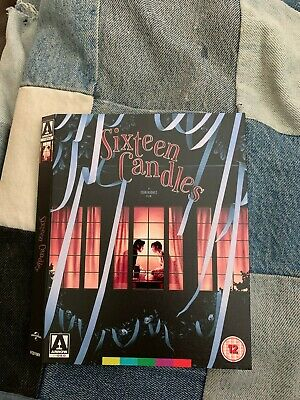 Sixteen Candles Arrow Video Bluray Slipcover Only slipcase NO discs