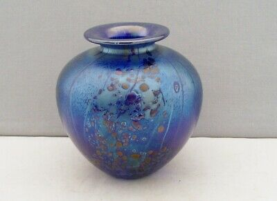 Isle Of Wight Studio Glass Summer Fruits Mulberry Beautiful Vase