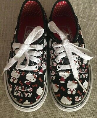 Vans Hello Kitty Authentic Shoes Girls Kids 11.0 lace up classic