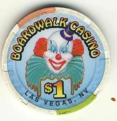 Boardwalk Casino Las Vegas Nevada $1 Chip 1998