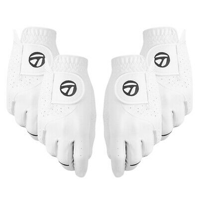 2018 TaylorMade Stratus Tech 2-Pack Golf Gloves NEW
