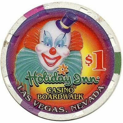 Holiday Inn Casino Boardwalk Las Vegas NV $1 Chip 1995